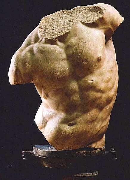 6-Торс кентавра (Торс Гадди) II век до н. э. Мрамор. Высота 84.jpg