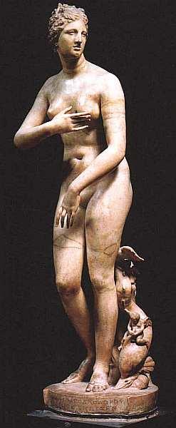 7-Клеомен, сын Аполлодора Венера Медичи I век до н. э. Мрамор. Высота 153.jpg