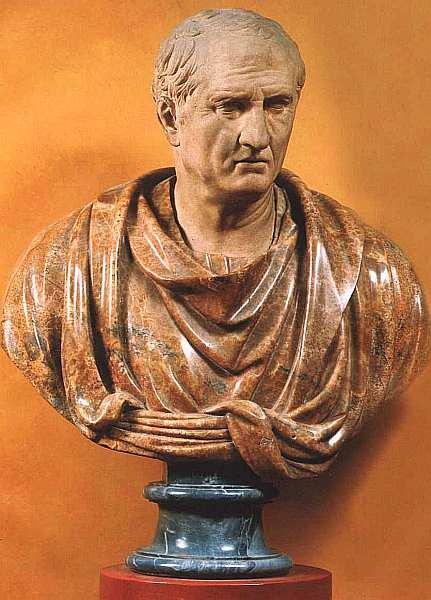 8-Портрет Цицерона Середина I века. Мрамор. 74.jpg