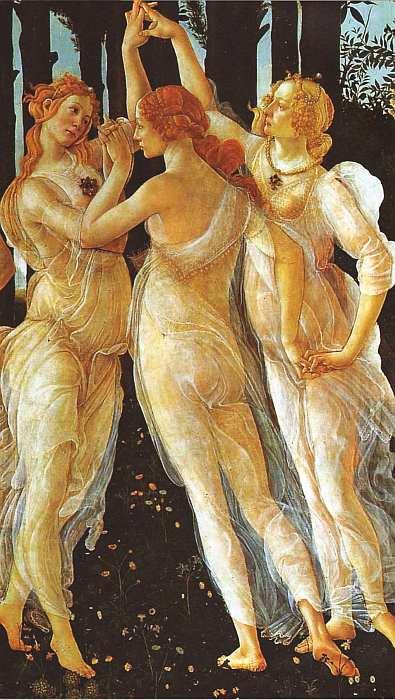 29-Сандро Боттичелли (1445–1510) Весна Около 1478 (фрагмент).jpg