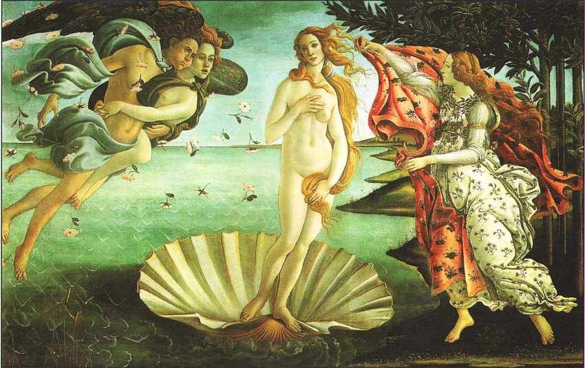 30-Сандро Боттичелли (1445–1510) Рождение Венеры 1483–1485.jpg