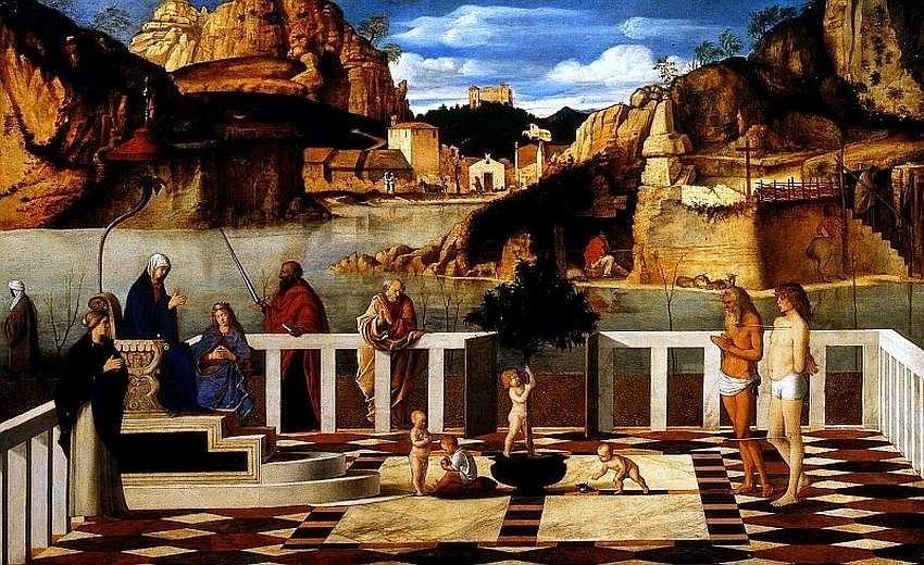 32-Джованни Беллини (1430–1516) Священная аллегория 1490–1499.jpg