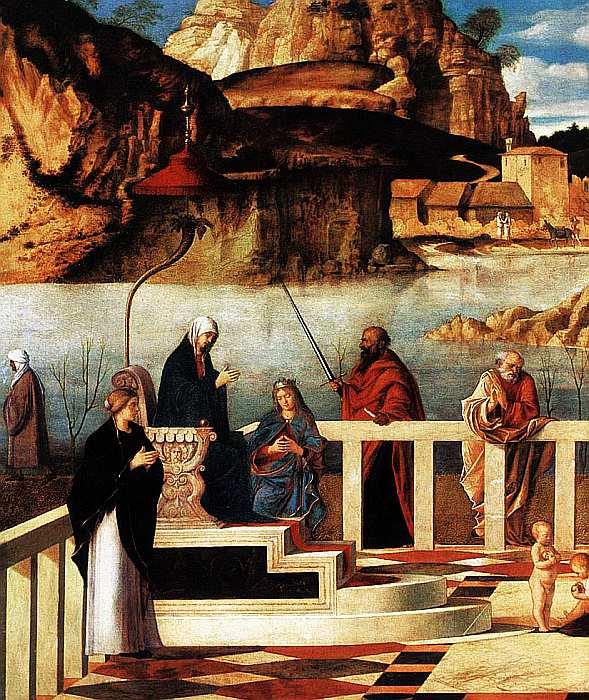 33-Джованни Беллини (1430–1516) Священная аллегория 1490–1499 (фрагмент).jpg