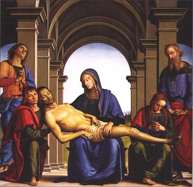34-Пьетро Перуджино (между 1445 и 1452–1523) Пьета. Около 1493–1494.jpg