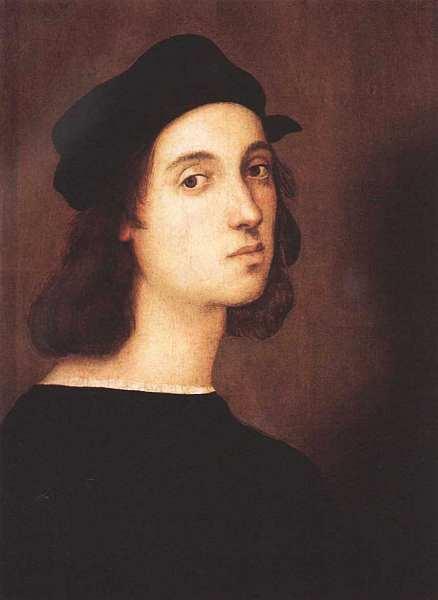 36-Рафаэль Санти (1483–1520) Автопортрет 1506.jpg