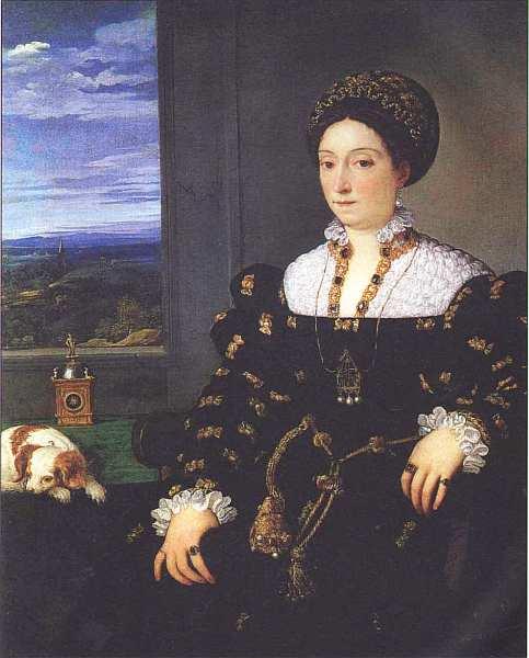43-Тициан Вечеллио (14881490-1576) Портрет Элеоноры Гонзага делла Ровере 1536–1537.jpg