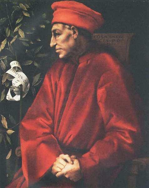 50-Якопо Понтормо (1494–1557) Портрет Козимо Старшего Медичи 1519–1520.jpg