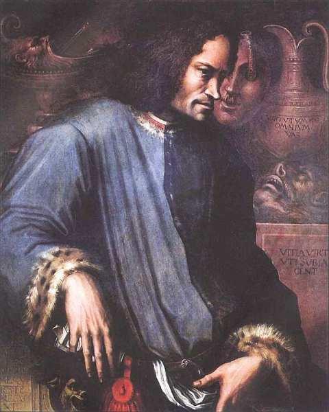 52-Джорджо Вазари (1511–1574) Портрет Лоренцо Великолепного Около 1533–1534.jpg
