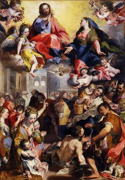57-Федерико Бароччи (1535–1612) Мадонна дель Пополо 1575–1579.jpg