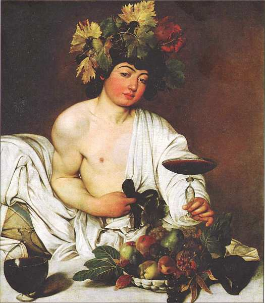 58-Микеланджело Меризи да Караваджо (1571–1610) Вакх Около 1595–1597.jpg