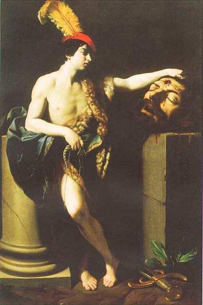 60-Гвидо Рени (1575–1642) Давид с головой Голиафа 1605.jpg