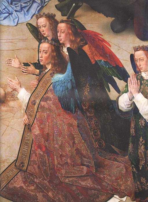 68-Гуго ван дер Гус (между 1435 и 1440–1482) Поклонение пастухов (Алтарь Портинари) Около 1476–1478 (фрагмент).jpg