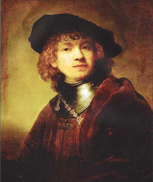 71-Рембрандт Харменс ван Рейн (1606–1669) Автопортрет Около 1639.jpg