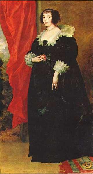 73-Антонис ван Дейк (1599–1641) Портрет Маргариты Лотарингской, герцогини Орлеанской 1634.jpg