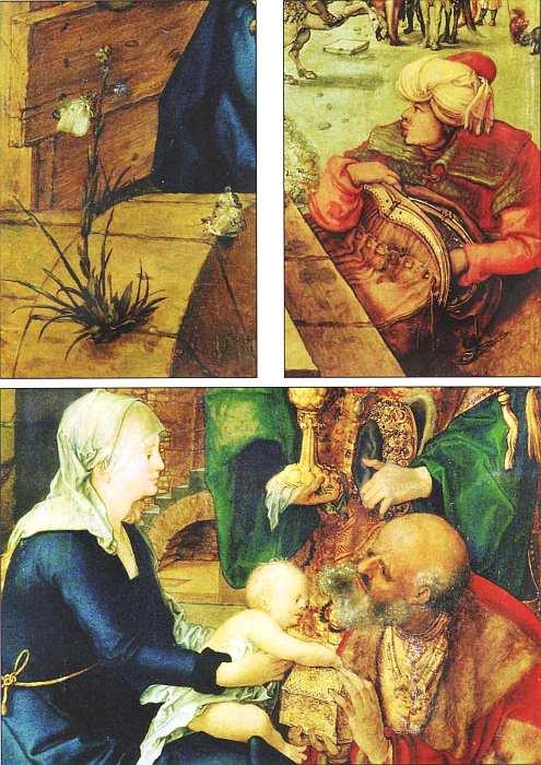 76-Альбрехт Дюрер (1471–1528) Поклонение волхвов 1504 (фрагмент).jpg