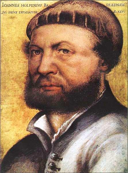 79-Ганс Гольбейн Младший (14971498-1543) Автопортрет 1542.jpg