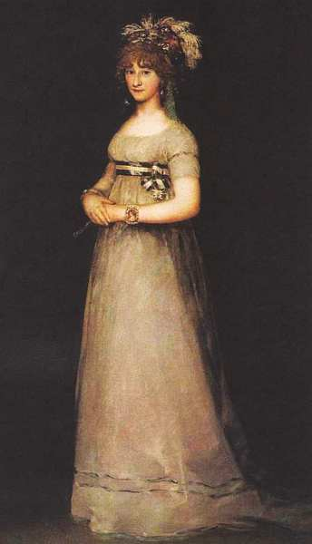 84-Франсиско Гойя (1746–1828) Портрет графини де Чинчон Около 1800.jpg