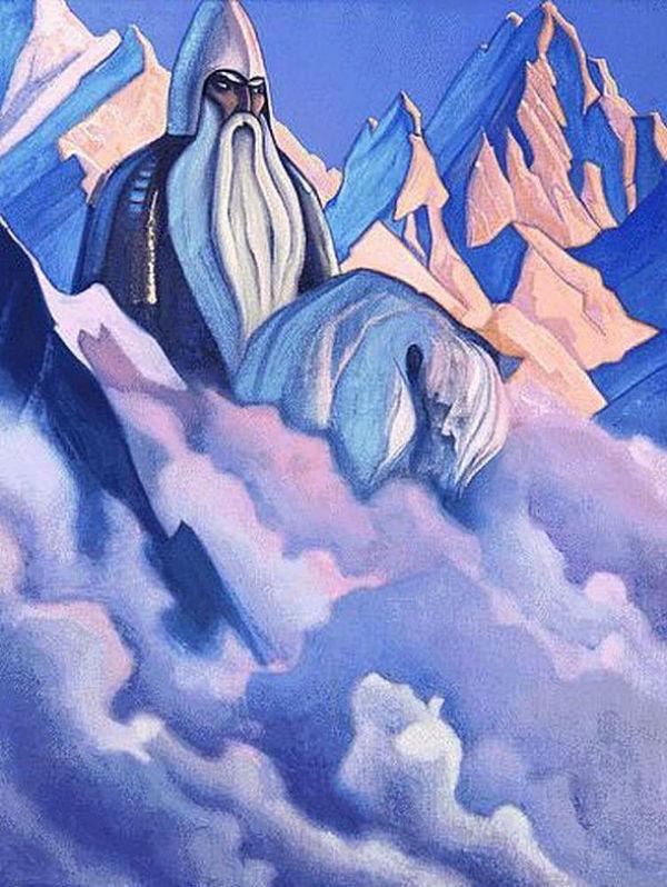 13-Николай Константинович Рерих - Святогор - 1938.jpg