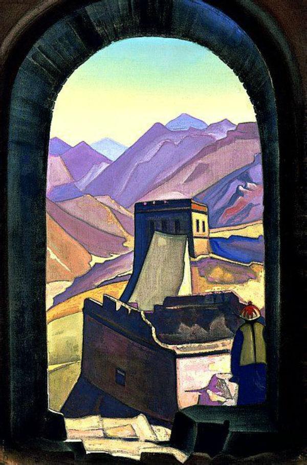 16-Николай Константинович Рерих - Великая стена - 1936.jpg