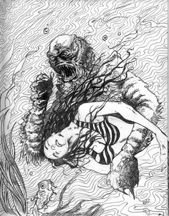 CreatureTakesAMateSwimming