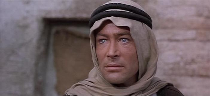 Лоуренс - араб с голубыми глазами