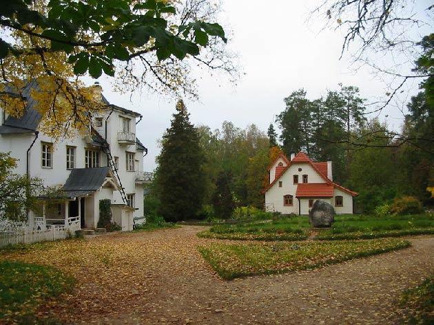дом усадьба поленова