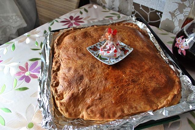 пирог в честь субботника 31 мая