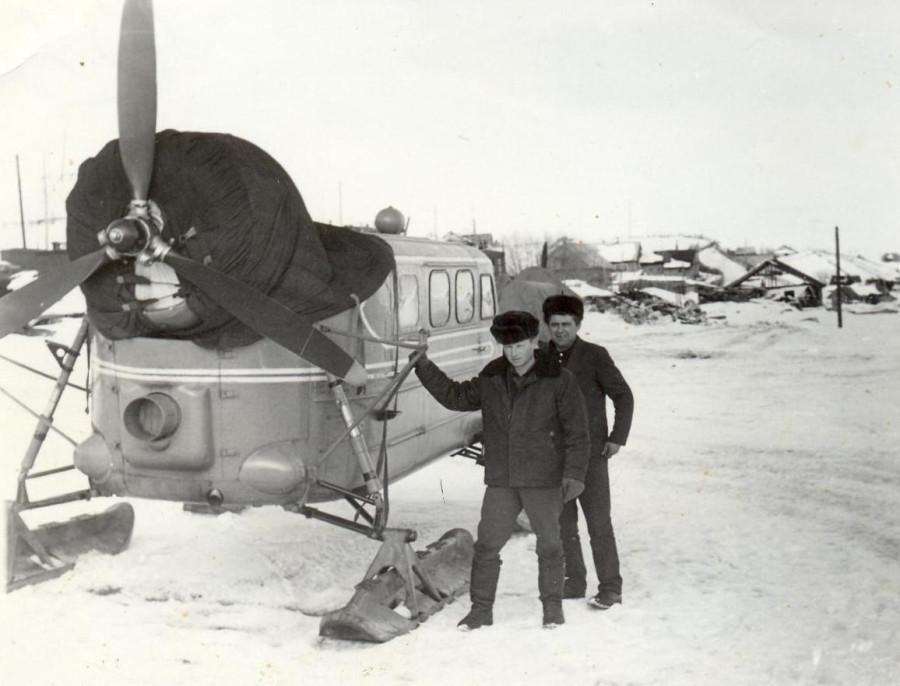 Аэросани на службе у связистов 1962 год 1