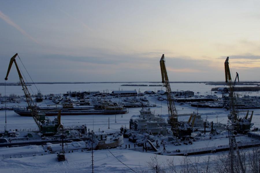 27.01.16 - речной порт
