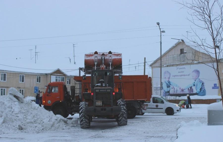 уборка снега-1