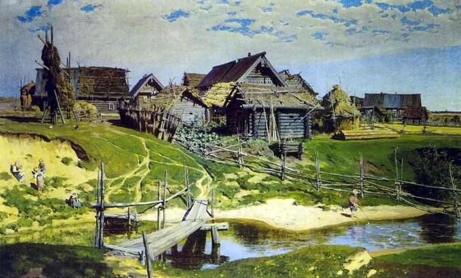 поленов русская деревня