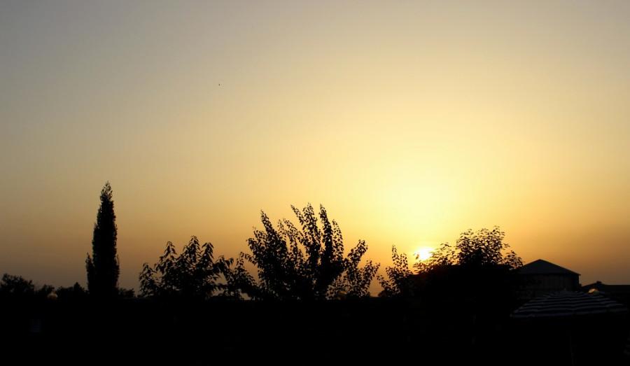 закат солнца-20 июня