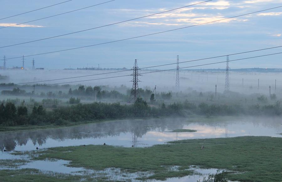 12 июля 2013-туман