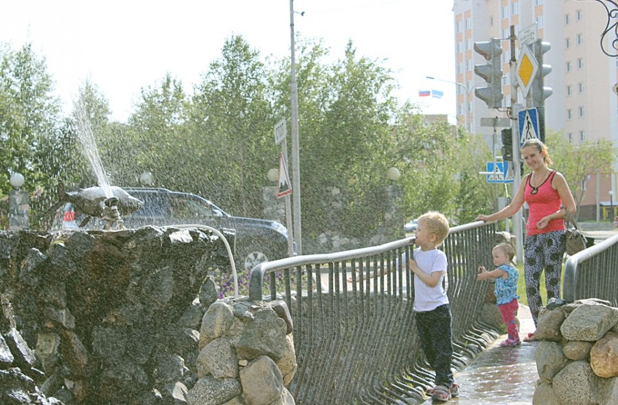 18 июля - жарища-фонтаны