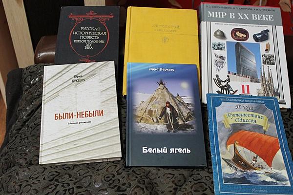 книжечки мои)