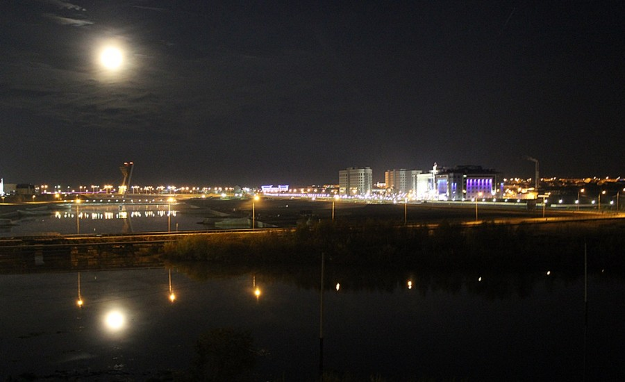 полнолуние 18-19 сентября 2013 - ночь