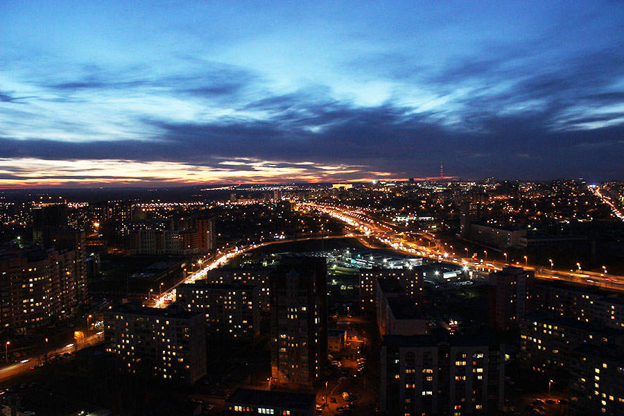 картинки ночного города уфа отложения обширные площади