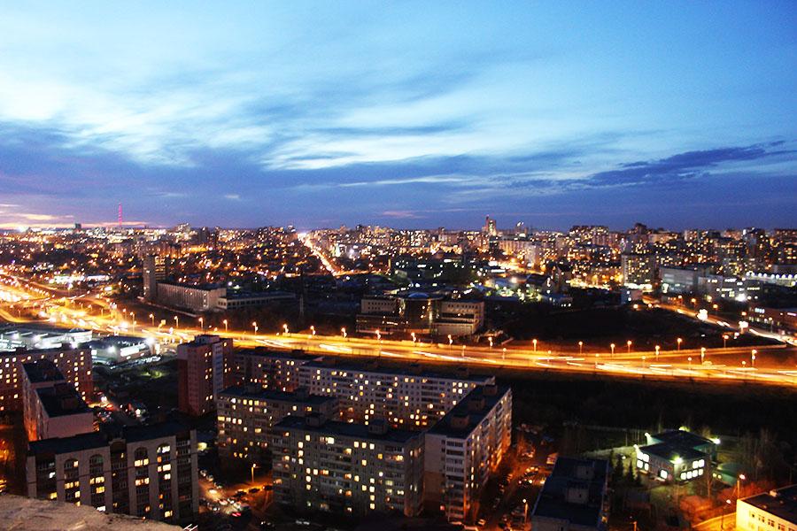 панорама на Чернышевского