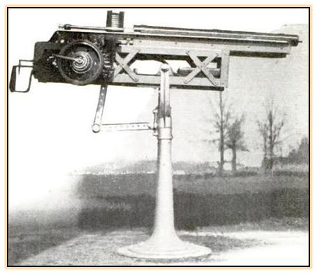 Опытные электромагнитные пулемёты (США, 1933/1936 год)