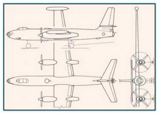 Проект высотного самолёта-разведчика Ил-36 (СССР. 1949 год)