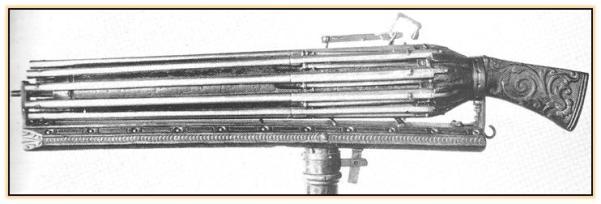 Первые револьверы? Крепостные ружья из Венеции (Италия. 1600 год)