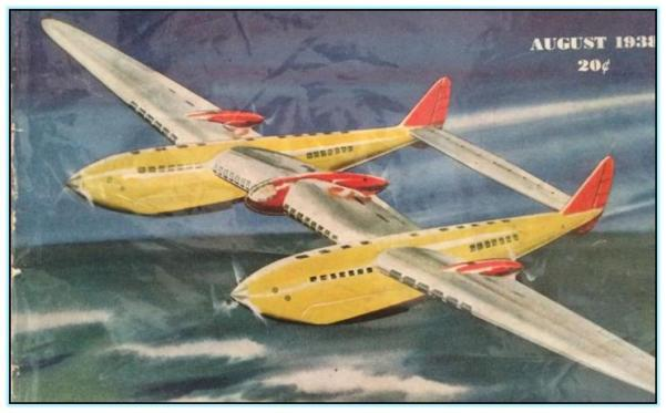 Проект гидросамолёта-гиганта Северского (США. 1938 год)