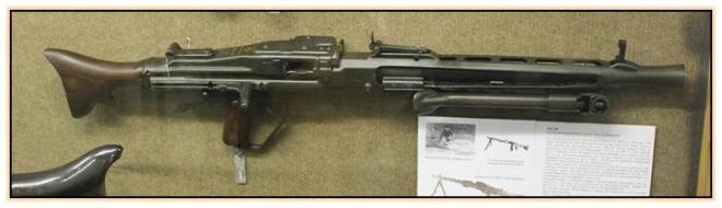 Опытный пулемёт MG-60 (ФРГ. 1956-1958 год)