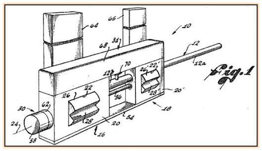 Проект скорострельной пушки конструкции Дардика (США. 1970-е годы)