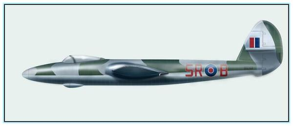 Проекты бомбардировщиков Gloster P.109 / P.108 (Великобритания. 1941 - 1942 год)