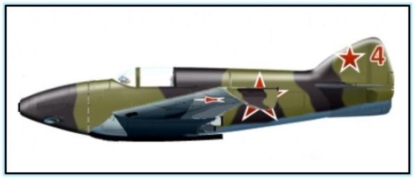 """Проект истребителя-перехватчика """"114Р"""" (СССР. 1942 год)."""