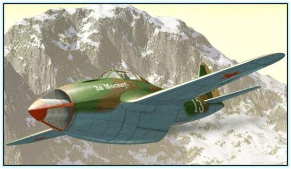 Проект истребителя Гу-ВРД (СССР. 1943 год)