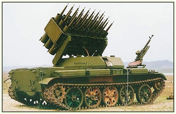 РСЗО GSL-110B. Система разминирования / огнемётная система (Китай. 1975 год).