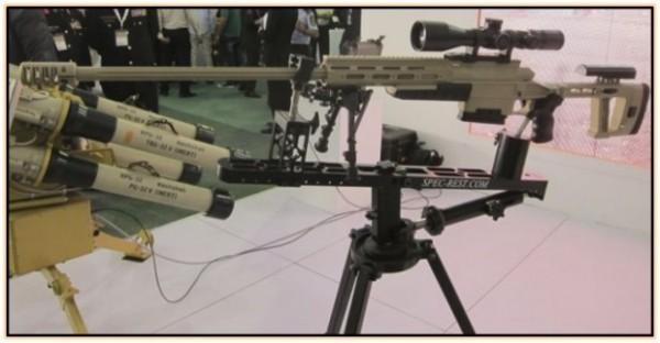 Снайперская винтовка JADARA J-9 (Иордания. 2015 год).