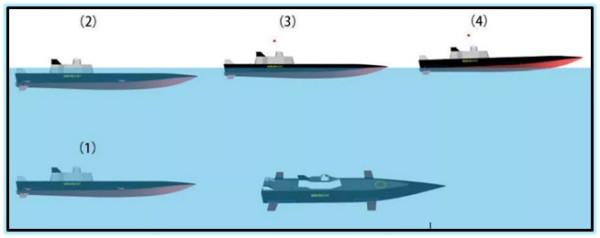 Проект погружного корабля (Китай. 2017 год).